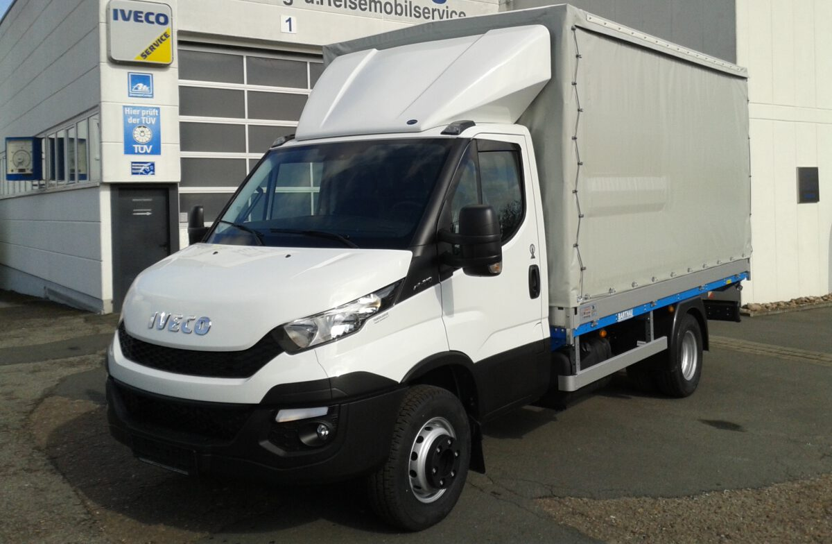 3D Dachspoiler fuer Iveco Daily Normalfahrerhaus HDI 04
