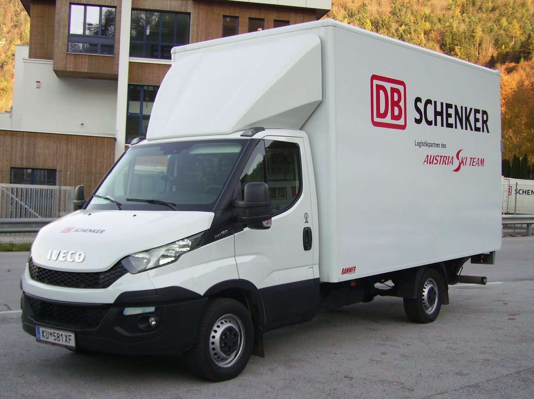 3D Dachspoiler fuer Iveco Daily Normalfahrerhaus HDI 05