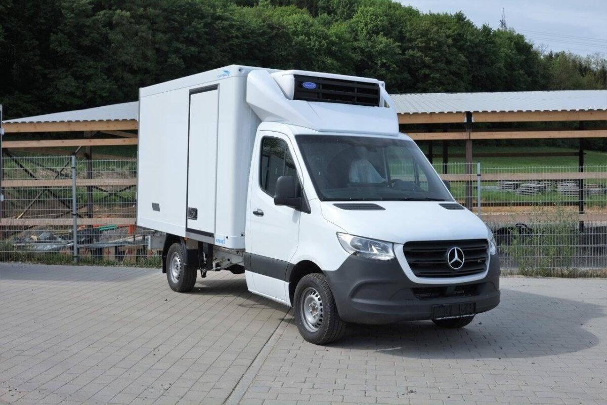 CLASSIC 3D-Dachspoiler für Mercedes Sprinter NCV3 / 2018 VS30 / BM 906/907/910, Normalfahrerhaus B 2000 x H 600 mm für abc aeroline