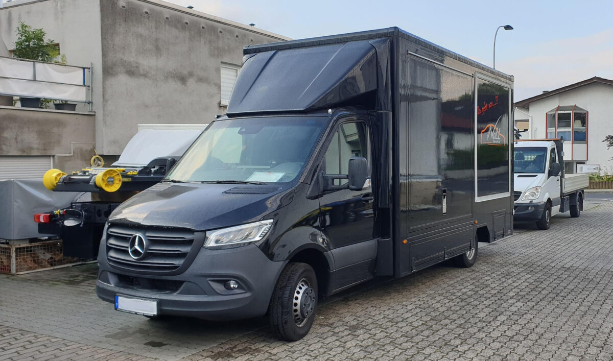 CLASSIC Seitenflügel für Mercedes Sprinter für abc aeroline
