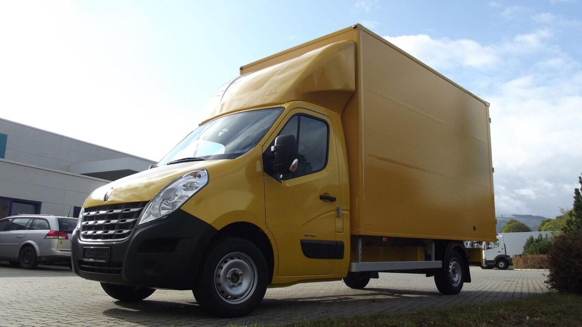 CLASSIC 3D-Dachspoiler für Renault Master NEU 2010, Normalfahrerhaus B 2100 x H 600 mm für abc aeroline