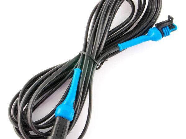 5 meter 2-weg Rappid Kabel mit Stecker und Buchse IP67 für abc aeroline