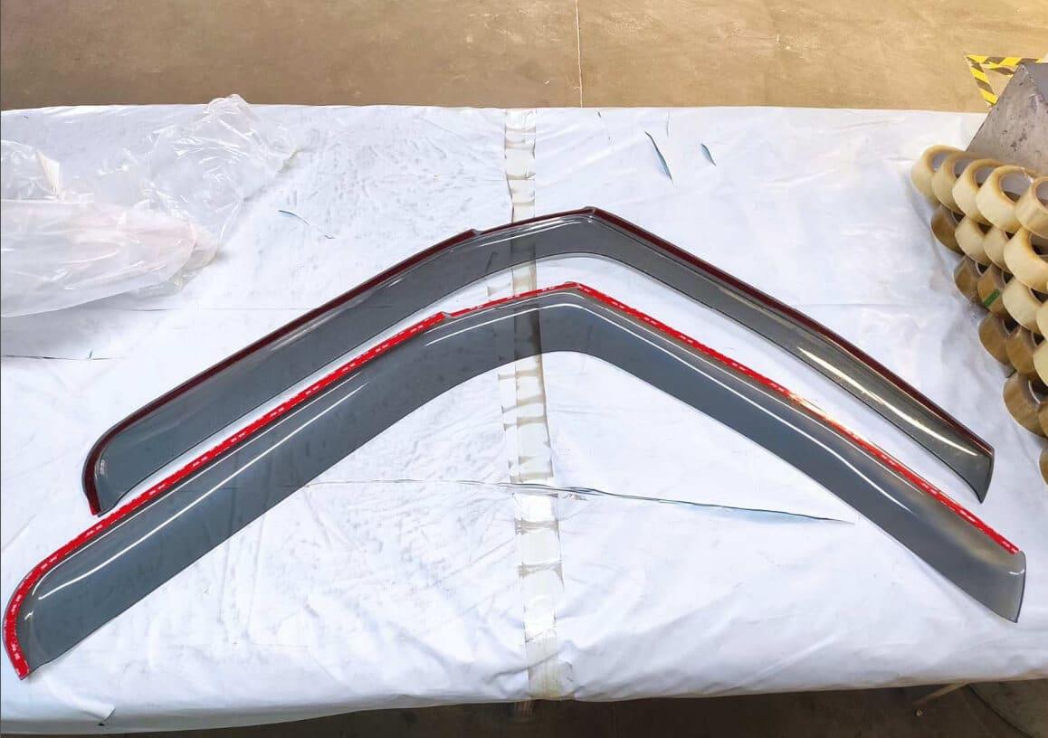 IVECO Eurocargo Seitenfenster 2 Windabweiser von ABC Aeroline