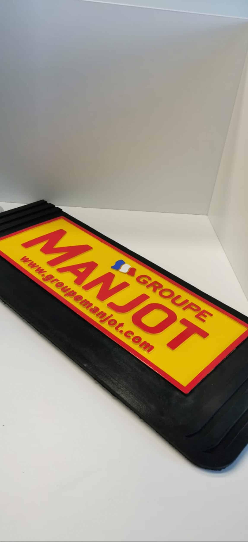 Protect Heckschürze Gummi Schwarz, Größe: 2500x350mm von ABC Aeroline