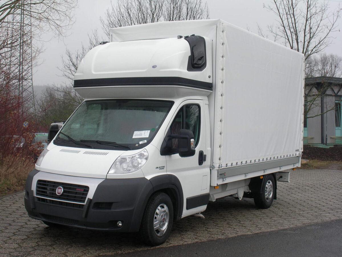 AERO-SPACE Dachschlafkabine für Citroen Jumper/Peugeot Boxer, Fiat Ducato, Normalfahrerhaus B 2050 x H 900, Ü 40mm für abc aeroline