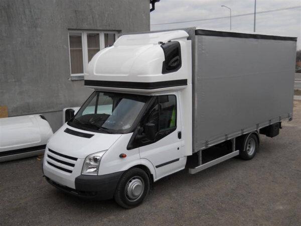 AERO-SPACE Dachschlafkabine für Ford Transit alt vor 2014, Normalfahrerhaus B 2050 x H 900, Ü 40mm für abc aeroline