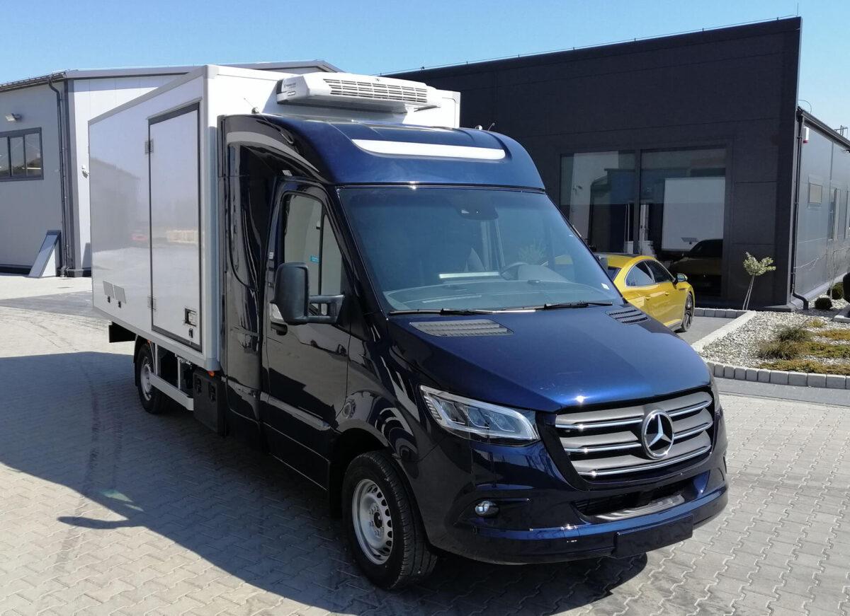 DEEPSLEEPER XS-Fernfahrerhaus für Mercedes Sprinter für abc aeroline