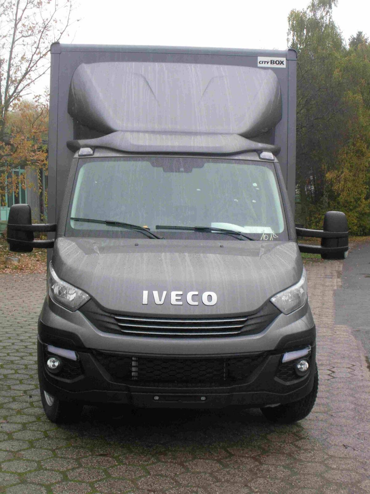 ECONOMY Blattspoiler für Iveco Eurocargo, Normalfahrerhaus B 1750 x L 1250 mm für abc aeroline