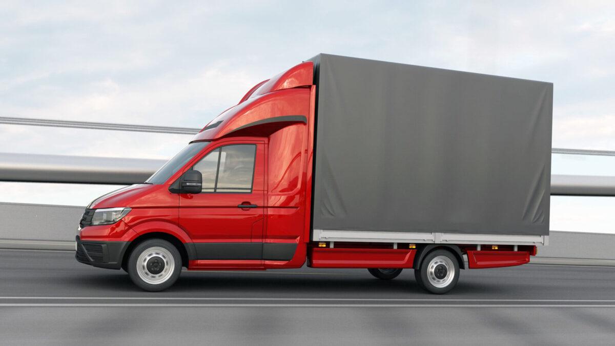DEEPSLEEPER Fernfahrerhaus für VW Crafter Neu / MAN TGE, Normalfahrerhaus B 2290 x H 730mm/Ü540 mm, mit Ablagetisch, Stauraum und 600mm Bett für abc aeroline