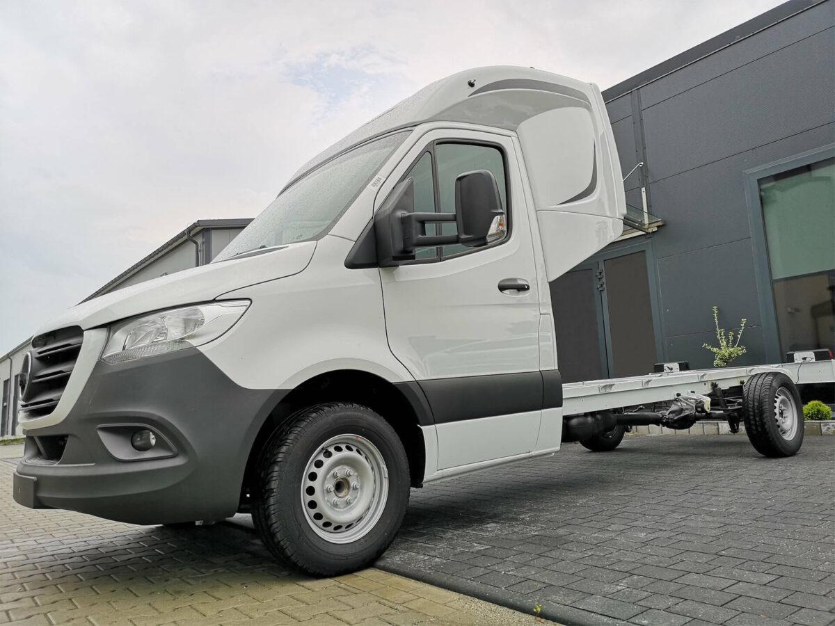DEEPSLEEPER Fernfahrerhaus für Autotransporter für Mercedes Sprinter für abc aeroline