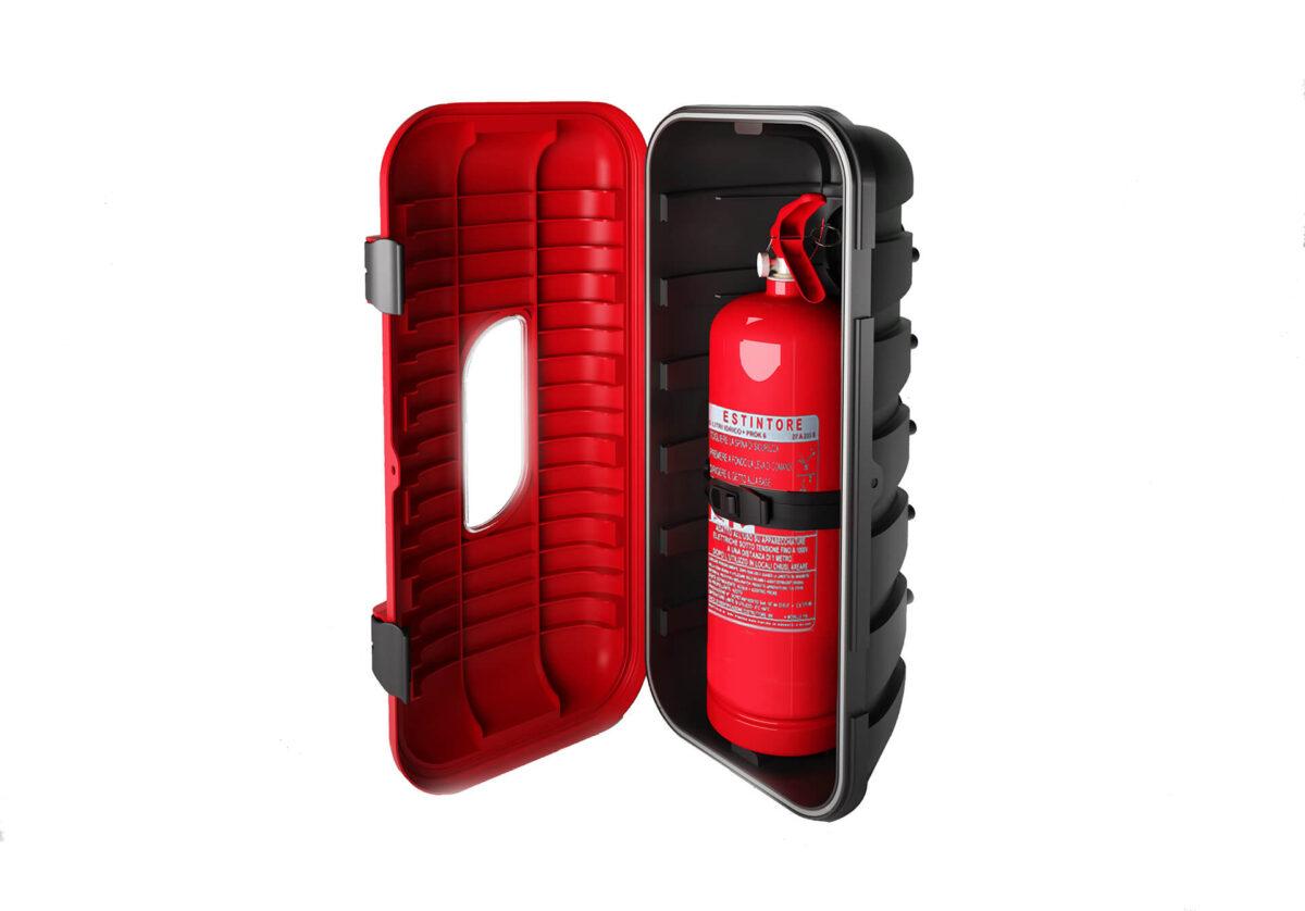 Feuerlöschkasten für 6kg Feuerlöscher für abc aeroline