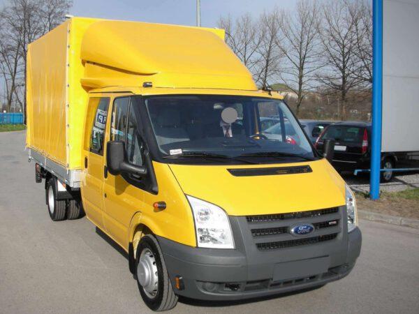 Ford Transit 3D Dachspoiler VARIO-FIX Doppelkabine von ABC Aeroline