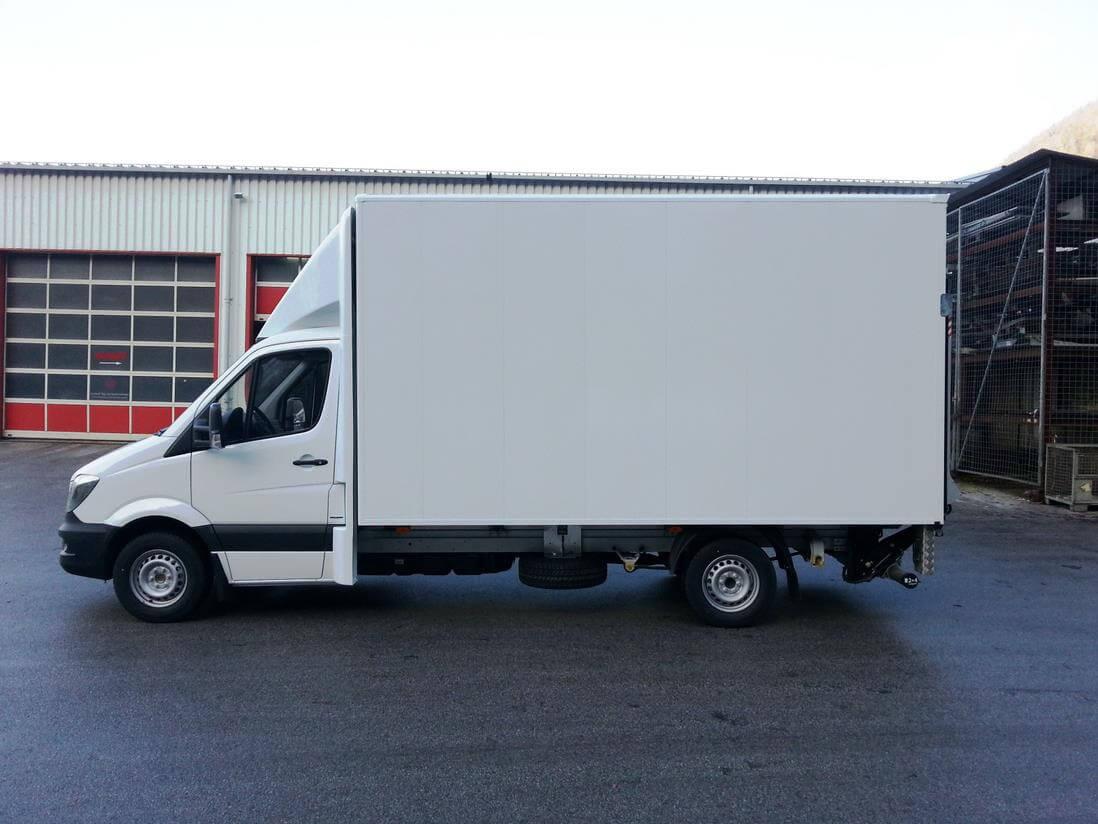 CLASSIC Seitenflügel für Mercedes Sprinter NCV3 BM906 alt, Normalfahrerhaus B 2150 x H 900 mm für abc aeroline
