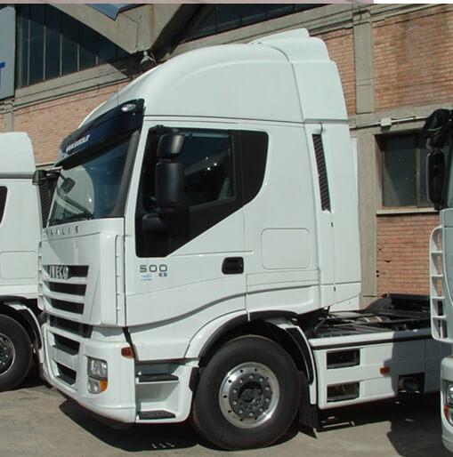 LOOK-ALIKE Seitenflügel für Iveco Eurocargo ab Euro 5, Fernfahrerhaus+Hochdach B 2300/Ü 70 mm für abc aeroline