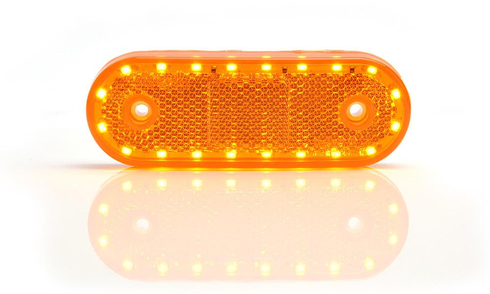 LED 12/24V Seitenmarkierungs- und Abbiegeleuchte für abc aeroline