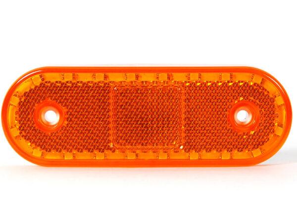 LED 12/24V Seitenmarkierungs- und Abbiegeleuchte mit Abgedichtetem Stecker für abc aeroline