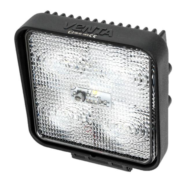 Leistungsfähige 12/24 volt, IP67, 1350 Lumen LED Arbeitslampe mit integrierter Sicherheitssteckdose und befestigungsbolzen für abc aeroline