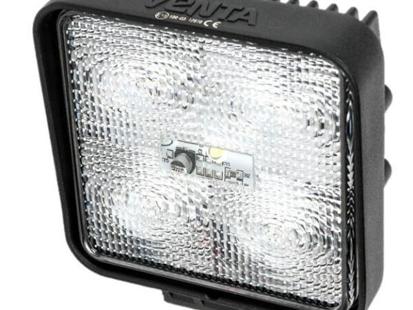 Leistungsfähige 12/24 volt, IP67, 1350 Lumen LED Arbeitslampe mit Kabel und befestigungsbolzen für abc aeroline