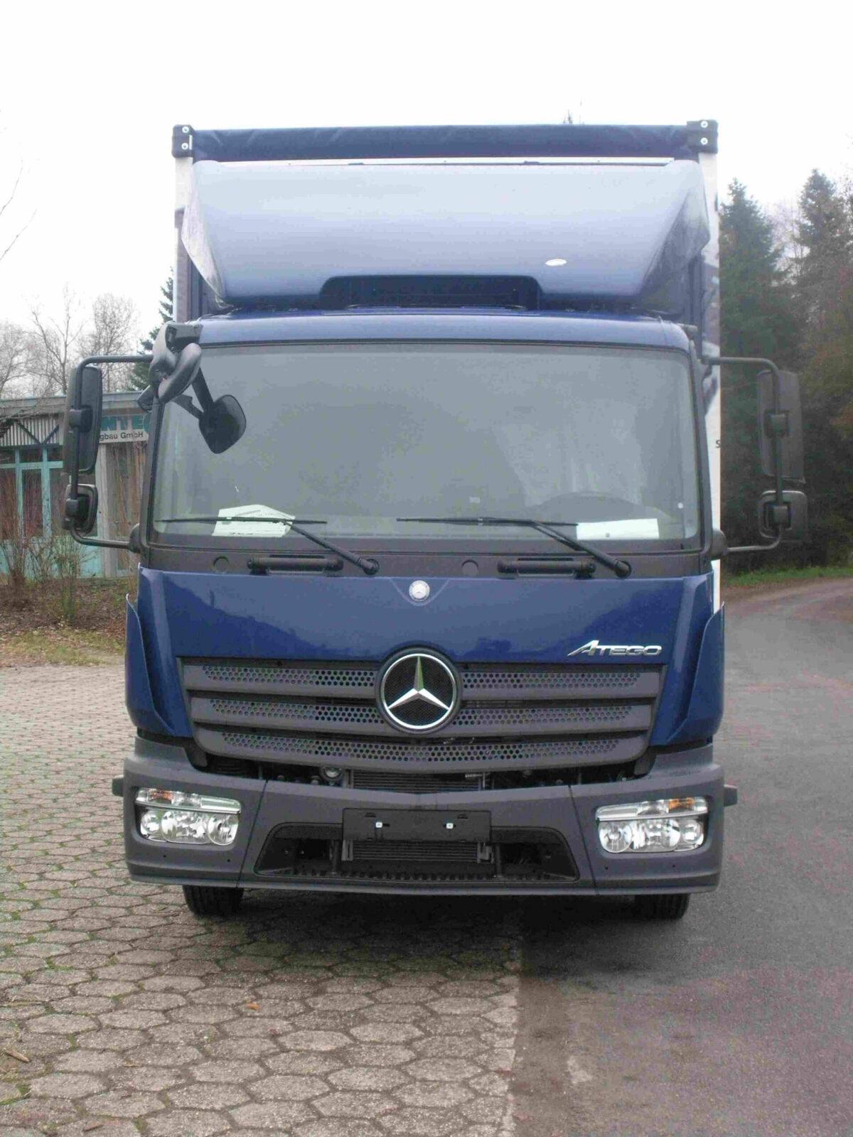 LOOK-ALIKE 3D-Dachspoiler B 2410 x H 600-900 mm für Mercedes Atego S-FHS für abc aeroline