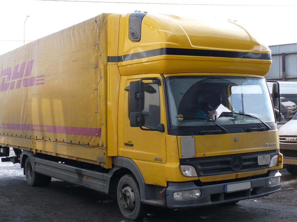 AERO-SPACE Dachschlafkabine für Mercedes Atego für abc aeroline gelb dhl