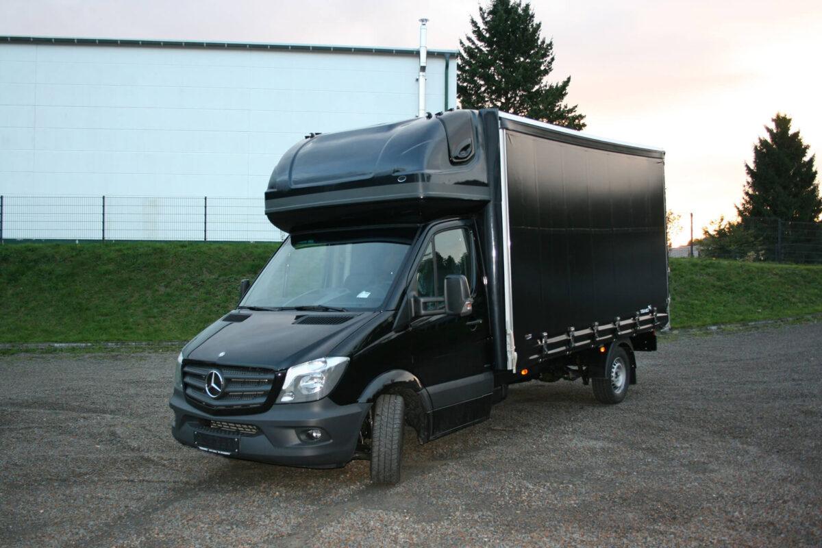 AERO-SPACE Dachschlafkabine für Mercedes Sprinter NCV3 BM 906, Normalfahrerhaus B 2060 x H 900, Ü 40mm für abc aeroline