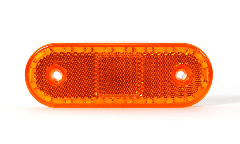 LED 12/24V Seitenmarkierungsleuchte mit Abgedichtetem Stecker für abc aeroline