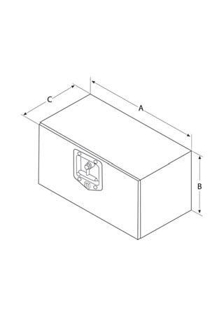 Werkzeugkasten Stahl skizze für abc aeroline