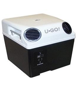 U-GO! mobile Klimanalage Standklimaanlage mit verstellbaren Luftauslässen