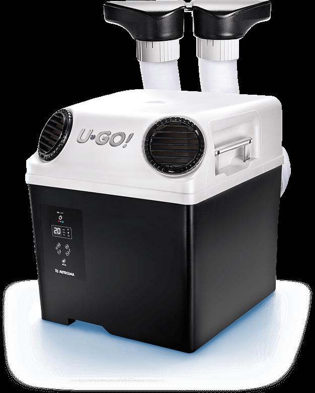 U-GO! mobile Klimanalage Standklimaanlage Luftauslässe einfahren