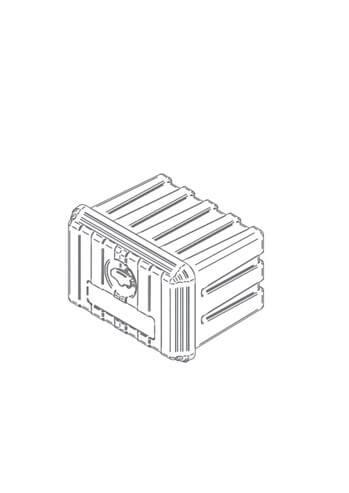 Werkzeugkasten Kunststoff, Größe: 500x350x400mm, personalisierbar für abc aeroline