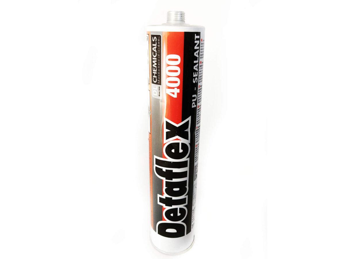Kleb- & Dichtstoff Detaflex 4000, 310 ml Kartusche PU 1-K-Polyurethan Dichtstoff SCHWARZ für ABC AeroLine