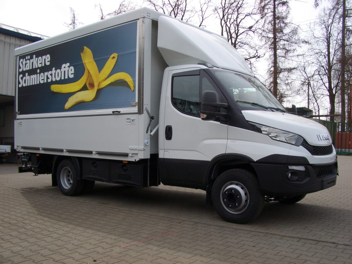3D Dachspoiler fuer Iveco Daily Normalfahrerhaus HDI 03